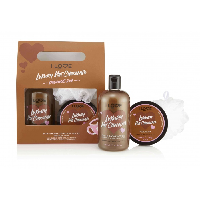 I LOVE HOT CHOCOLATE DELICIOUS DUO GIFT SET